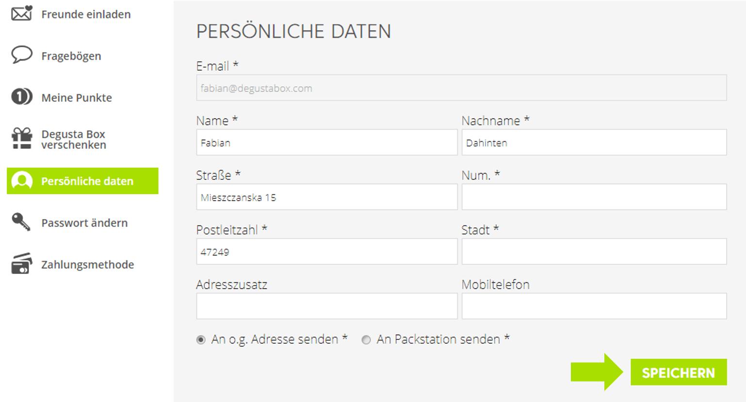 Adresse ändern Deutsche Bank