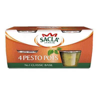 Sacla Pesto Pots