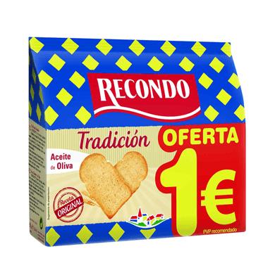 RECONDO Pan Tostado Tradicional 20 Rebanadas