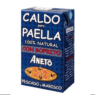 ANETO Caldo para Paella con Sofrito de Pescado y Marisco