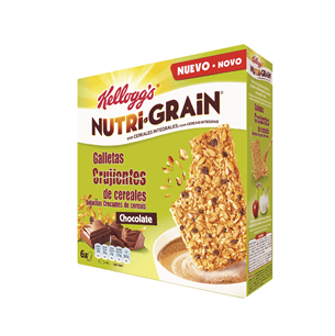 KELLOGG'S Nutri-Grain® galleta Crujiente de Chocolate