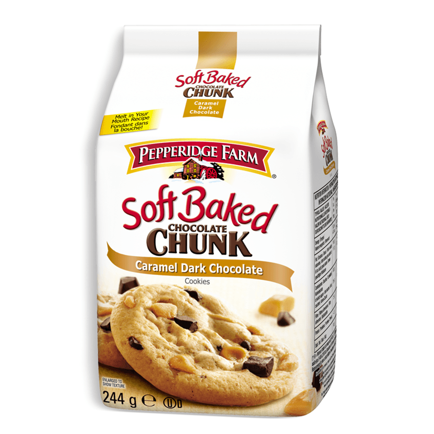 PEPPERIDGE FARM Soft Chunk Caramel Dark Chocolate