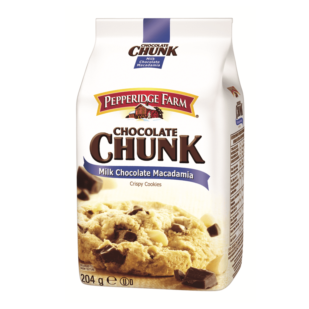 PEPPERIDGE FARM Chocolate Chunk Milk Chocolate Macadamia