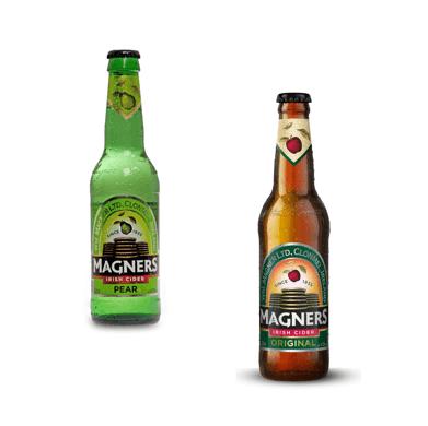 Magners Cidre Original et Cidre Poire