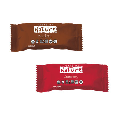 Taste of Nature Cranberry et Brazil nut