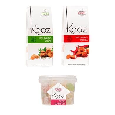 Kooz Biscuits Salés et Lookoums