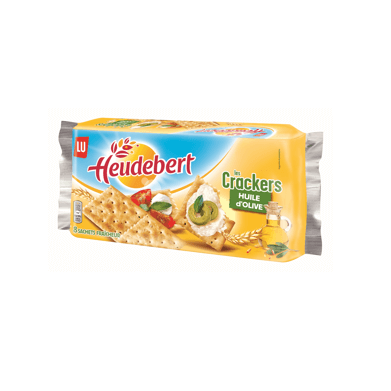 Heudebert Crackers huile d'olive