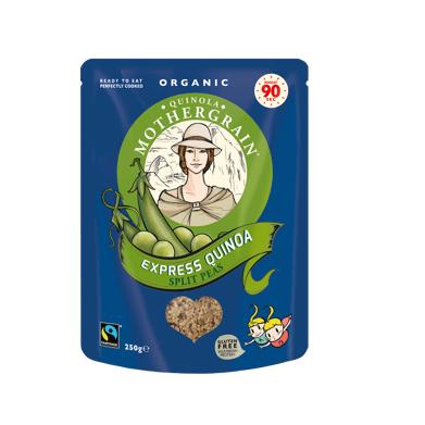 Quinola Mothergrain Recette Express Quinoa Pois Cassés